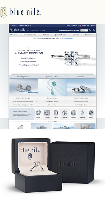 Blue Nile Brand and Design Review