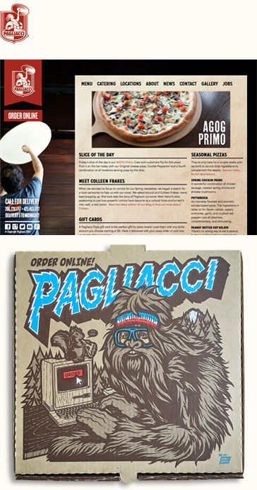 Pagliacci Pizza Brand Description