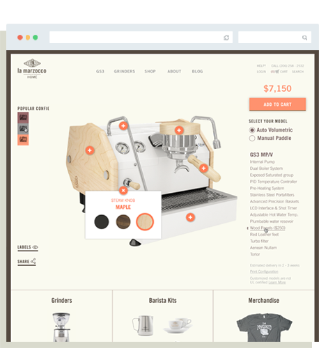 Lm Configurator Page