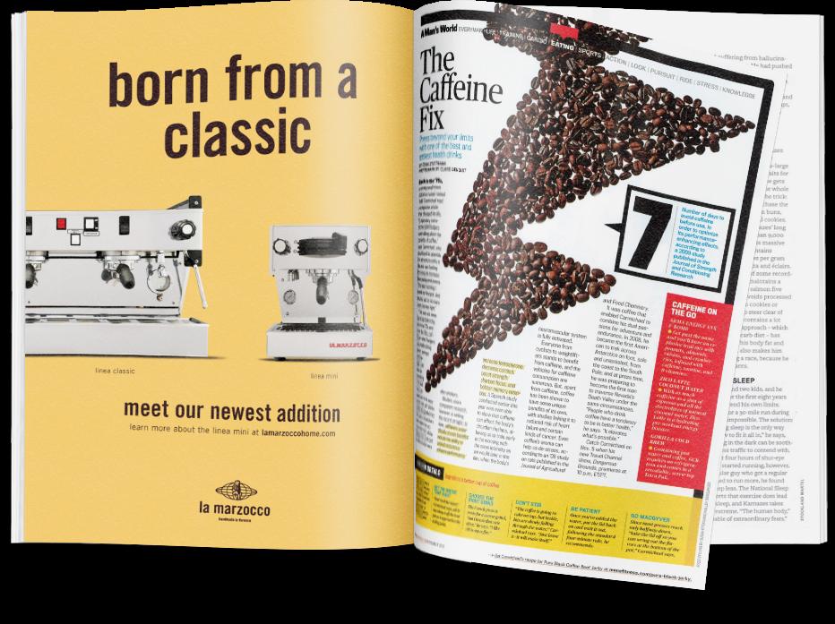 Linea Mini Launch Magazine Spread