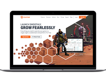 Playfab Casestudy Homepage After Revised