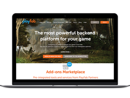 Playfab Casestudy Homepage Before Revised