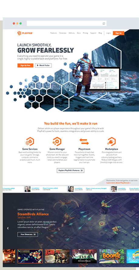Playfab Casestudy Website Full Hompage Revised 2