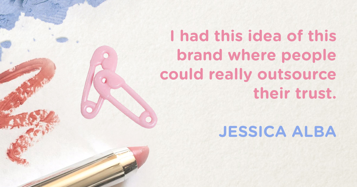 Jessica Alba Famous Quote About Branding - The Honest Company