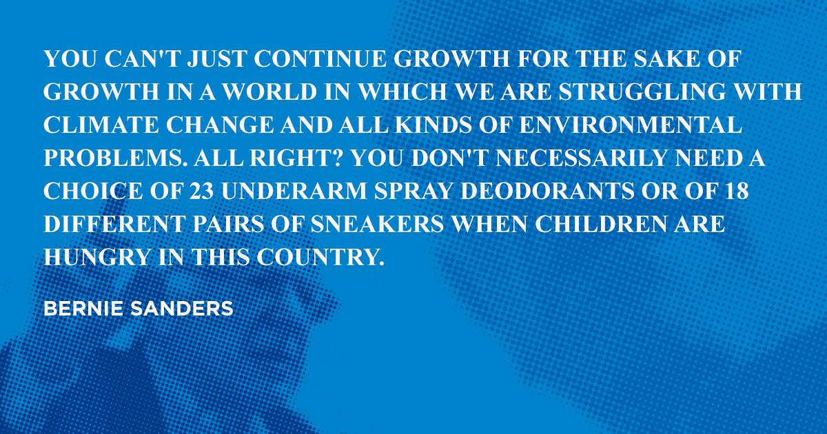 Bernie Sanders Famous Quotes About Branding