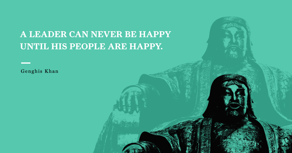 Genghis Khan Famous Quotes