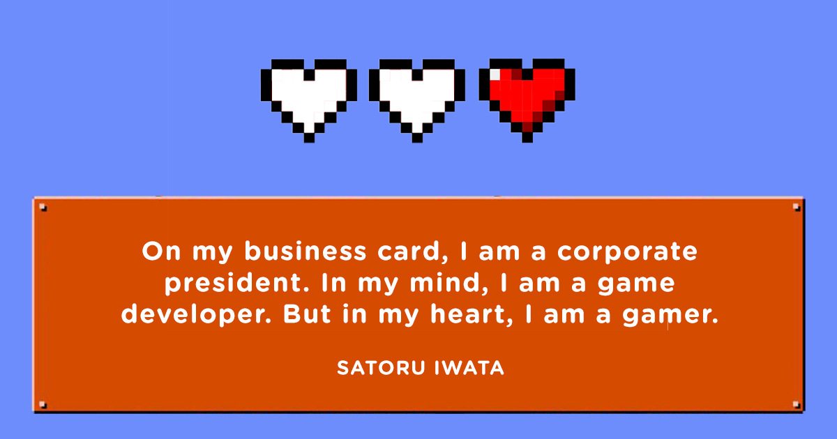 Satoru Iwata Famous Quotes