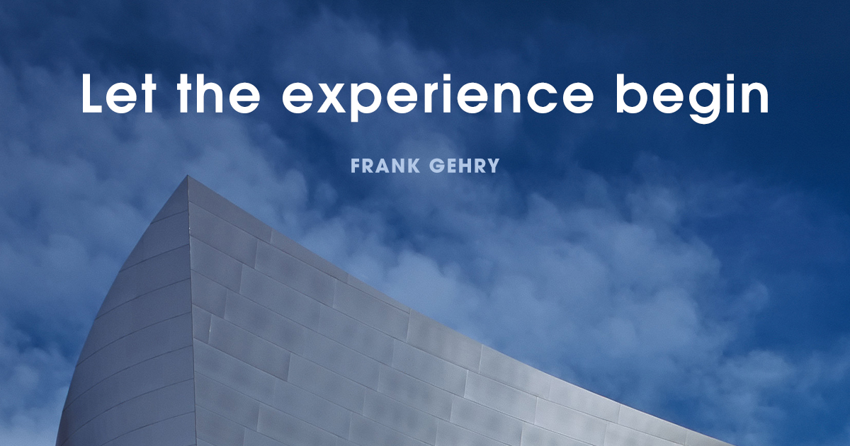 Famous quotes Frank Gehry